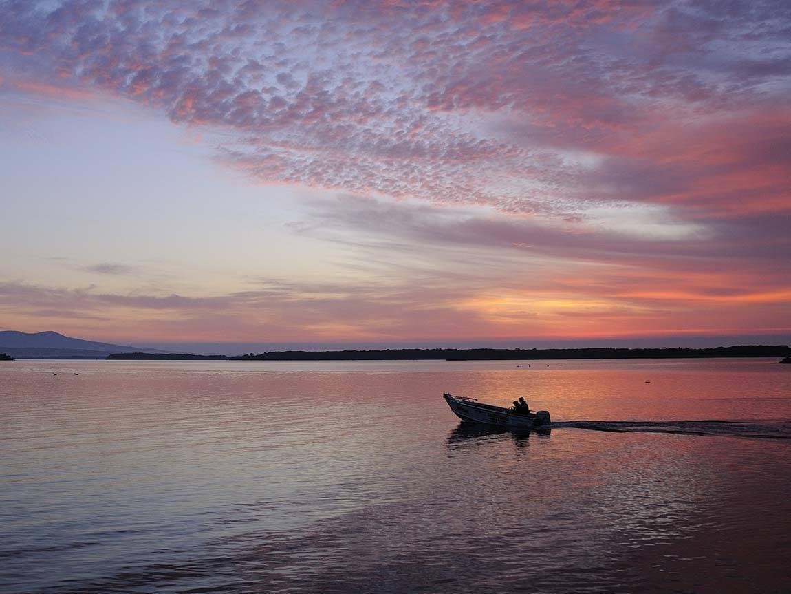 Sunset at Mallacoota, Gippsland, Victoria, Australia