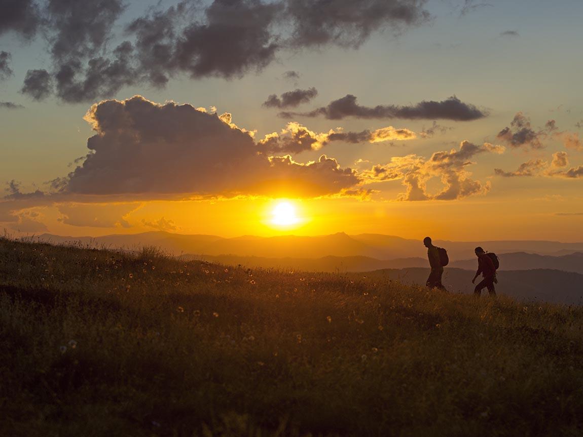 Hiking at Razorback, High Country, Victoria, Australiaa
