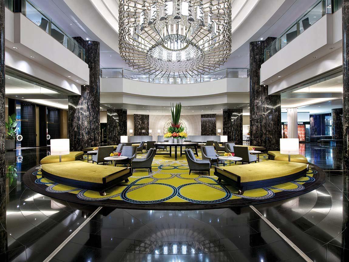 Crown Towers lobby, Melbourne, Victoria, Australia