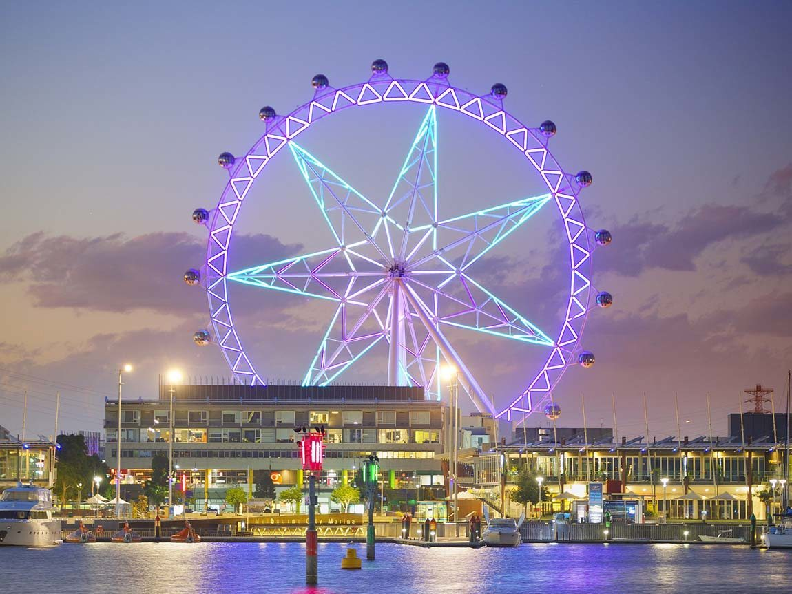 Melbourne Star Observation Wheel, Docklands, Victoria, Australia