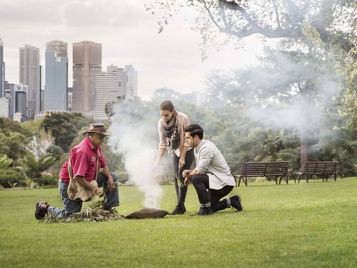Aboriginal Heritage Walk at the Royal Botanic Gardens, Melbourne, Victoria, Australia
