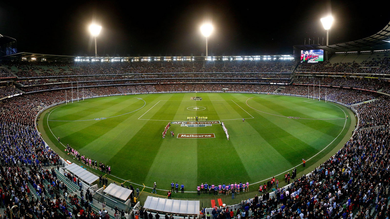 AFL at Melbourne Cricket Ground (MCG), Melbourne, Victoria, Australia. Image: AFL Media