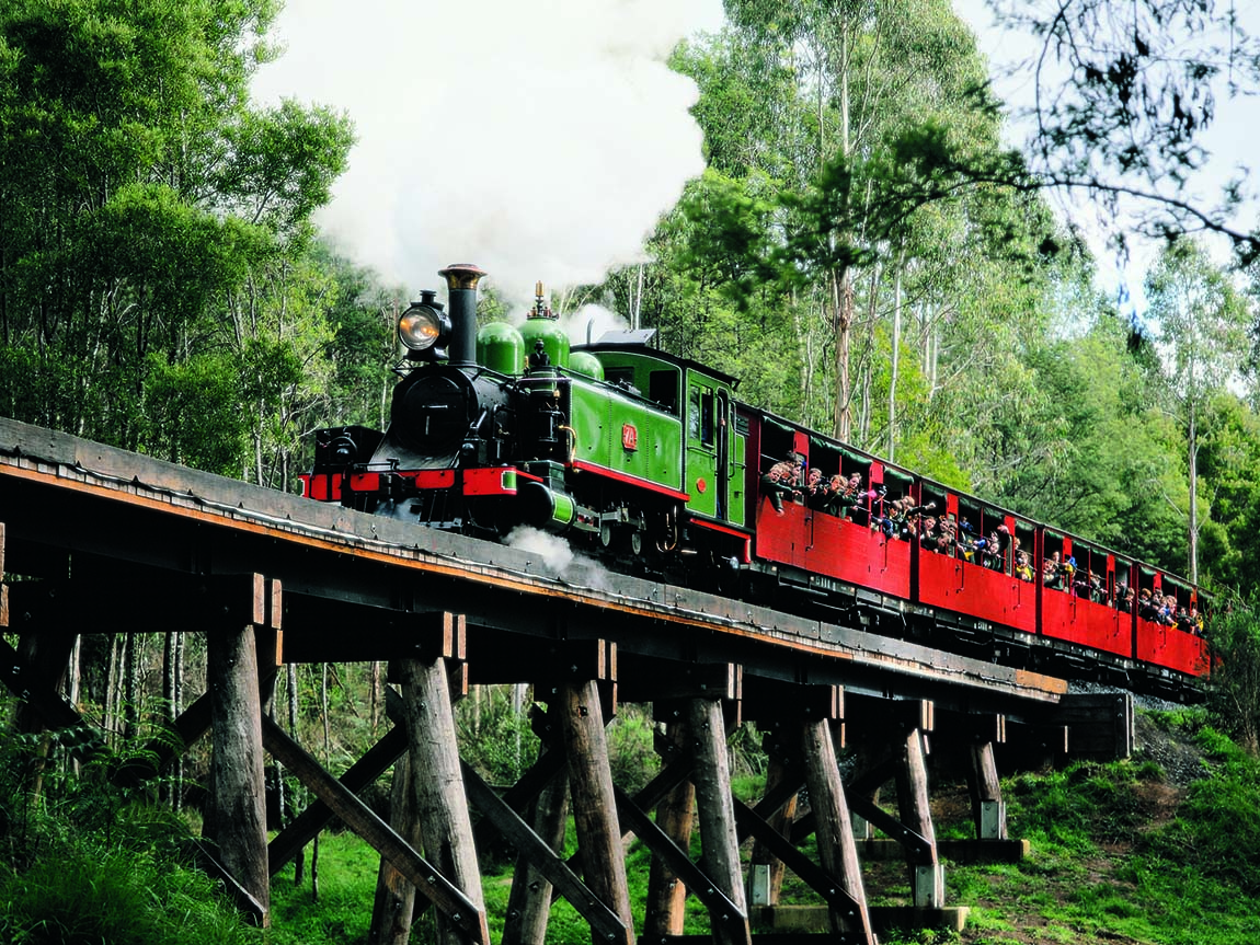Puffing Billy, Yarra Valley and Dandenong Ranges, Victoria, Australia
